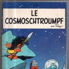 Cómics: TEBEO LOS PITUFOS. LE COSMOSCHTROUMPF. 6º SERIE. DUPUIS. ORIGINAL. AÑOS 70. MUY RARO. Lote 56496290