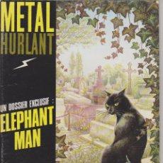 Cómics: METAL HURLANT - EDICIÓN FRANCESA - NÚM. 62 - MARZO 1981 - HOMBRE ELEFANTE - JODOROWSKY - MOEBIUS. Lote 69820118