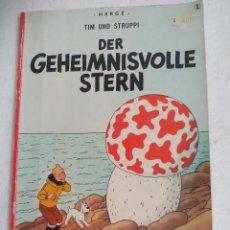 Cómics: TIM UND STRUPPI DER GEHEIMNISVOLLE STERN. HERGÉ. TINTIN EN BELGA. COMIC.1990. DE BELGICA.. Lote 178883160
