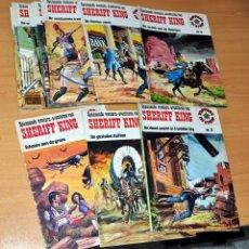 Cómics: EL SHERIFF KING - COLECCIÓN COMPLETA EN HOLANDÉS - 1 AL 16 - VÍCTOR MORA Y FRANCISCO DÍAZ - AÑO 1975. Lote 124023819
