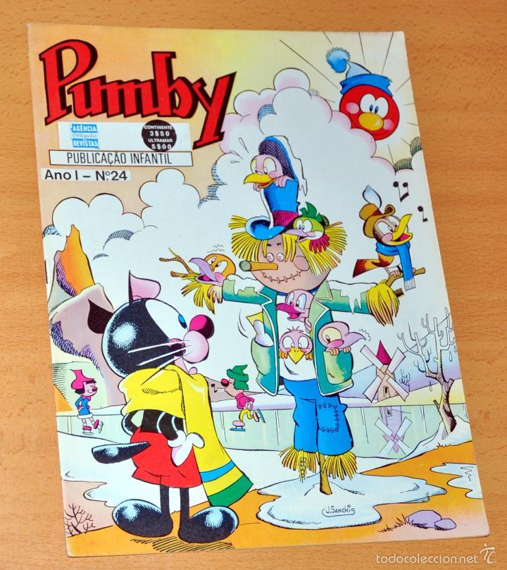 PUMBY EN PORTUGUÉS - Nº 24 - DE JOSÉ SANCHÍS - EDITADO EN PORTUGAL (Tebeos y Comics - Comics Lengua Extranjera - Comics Europeos)