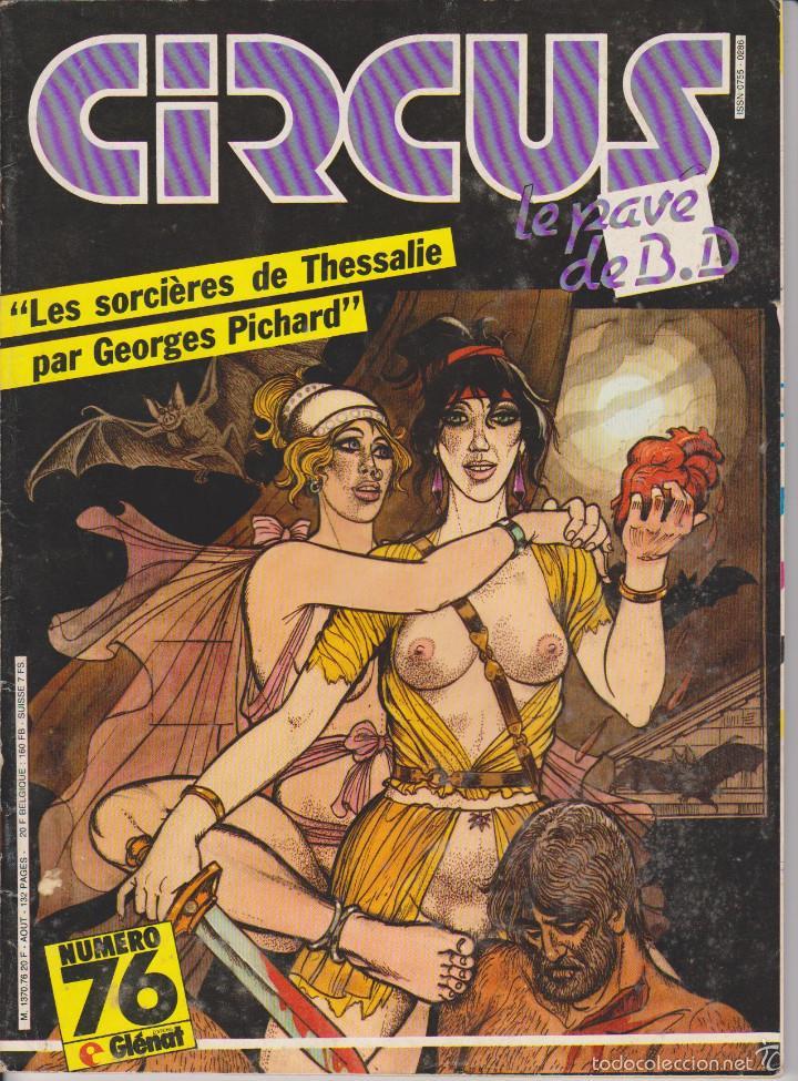 CIRCUS / LE PAVÉ - NÚM. 76 - AGOSTO 1984 - GLÉNAT - EDICIÓN FRANCESA (Tebeos y Comics - Comics Lengua Extranjera - Comics Europeos)