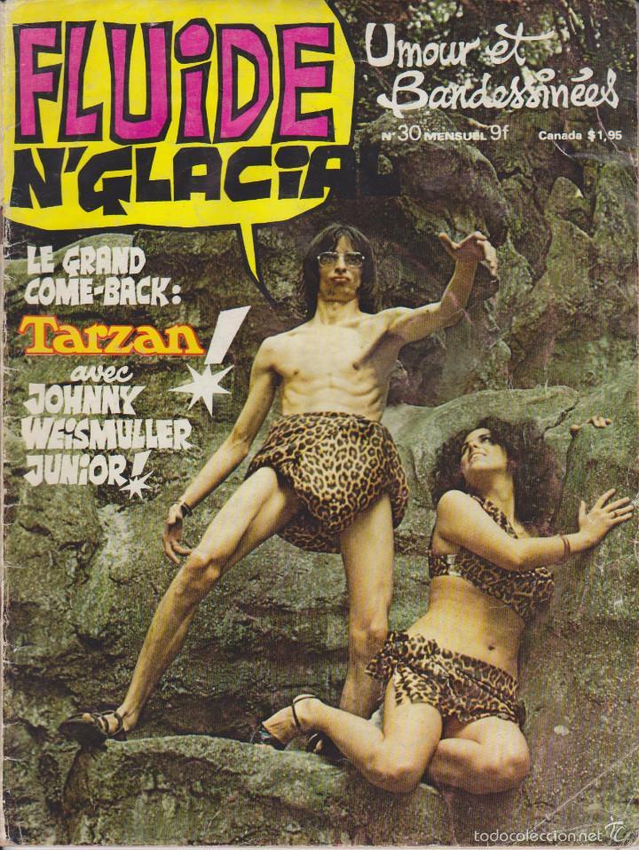 FLUIDE GLACIAL - NÚM. 30 - OTOÑO 1978 - FRANQUIN (Tebeos y Comics - Comics Lengua Extranjera - Comics Europeos)