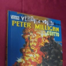 Cómics: EGITTO. PETER MILLIGAN. VERTIGO VOICES. PLANETA. EN ITALIANO.. Lote 56703530