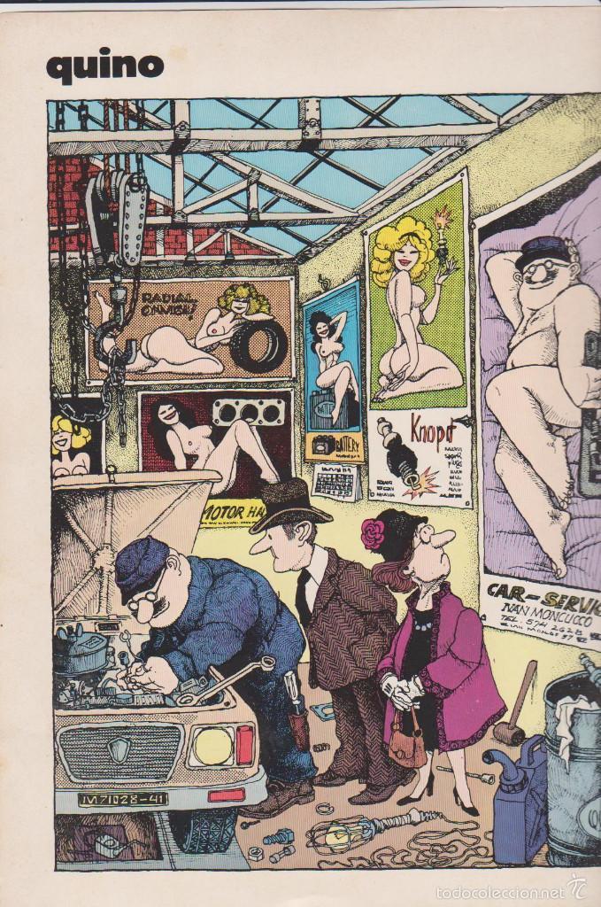 Cómics: CIRCUS - NÚM. 43 - NOVIEMBRE 1981 - GLÉNAT - QUINO - SANAHUJAS - EDICIÓN FRANCESA - Foto 3 - 56968804