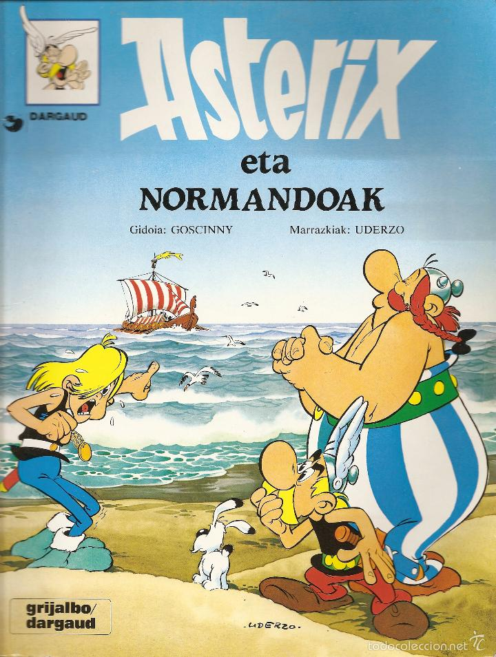 ASTERIX ETA NORMANDOAK, EN EUSKERA, TAPA BLANDA, 1995 (Tebeos y Comics - Comics Lengua Extranjera - Comics Europeos)