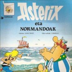 Cómics: ASTERIX ETA NORMANDOAK, EN EUSKERA, TAPA BLANDA, 1995. Lote 57184084