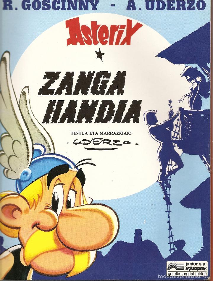 ASTERIX - ZANGA HANDIA ,EN EUSKERA, 1995 TAPA BLANDA (Tebeos y Comics - Comics Lengua Extranjera - Comics Europeos)