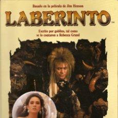 Cómics: LABERINTO, BASADO EN LA PELICULA DE JIM HENSON, DISTEIN LIBROS, 1986, RARO. Lote 113048531