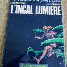 Cómics: UNE AVENTURE DE JOHN DIFOOL // JODOROWSKY – MOEBIUS // L´INCAL LUMIERE. Lote 57518422