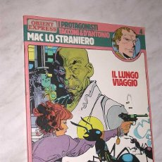 Cómics: MAC LO STRANIERO 1: IL LUNGO VIAGGIO. GINO D'ANTONIO Y FERDINANDO TACCONI. I PROTAGONISTI N 4. 1984. Lote 57920836