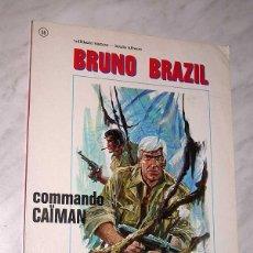 Cómics: BRUNO BRAZIL: COMMANDO CAIMAN. LOUIS ALBERT Y WILLIAM VANCE. JEUNE EUROPE 66. EDITIONS DU LOMBARD. +. Lote 83966207