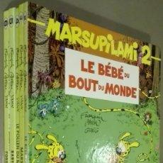 Cómics: MARSUPILAMI. NÚMEROS 2 – 3 – 4 – 5 – 6. EN FRANCÉS. MARSU PRODUCTIONS. 1ª EDICIÓN. MUY BUEN ESTADO! . Lote 58231854