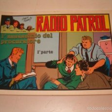 Cómics: CHARLES SCHMIDT. RADIO PATROL. SEIS NÚMEROS SUELTOS. RMT75934. . Lote 58529187