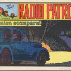 Cómics: TEBEO. RADIO PATROL. Nº 36. I CAMION SCOMPARSI. EN ITALIANO. Lote 59814752