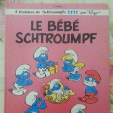 Cómics: LE BEBE SCHTROUMPF - PEYO - DUPUIS - FRANCES - LOS PITUFOS - 1984. Lote 60159557