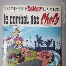 Cómics: EL COMBATE DE LOS JEFES DE ASTERIX (LE COMBAT DES CHEFS) EDICIÓN TEMPRANA DE 1968.. Lote 60279835
