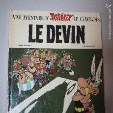 Cómics: ASTERIX Y EL ADIVINO (LE DEVIN) PRIMERA EDICIÓN DE 1972.. Lote 60282227