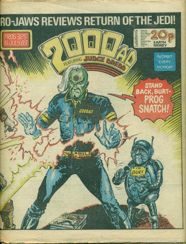 2000 AD JUDGE DREDD (Tebeos y Comics - Comics Lengua Extranjera - Comics Europeos)
