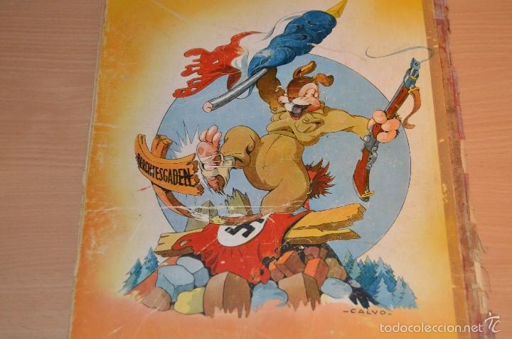 Cómics: HET BEEST IS DOOD - De Wereldoorlog bij de dieren - Muy antiguo - CALVO - 2ª Guerra Mundial - 1946 - Foto 6 - 60670719