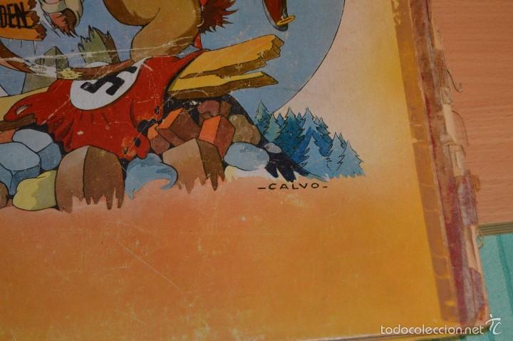 Cómics: HET BEEST IS DOOD - De Wereldoorlog bij de dieren - Muy antiguo - CALVO - 2ª Guerra Mundial - 1946 - Foto 7 - 60670719