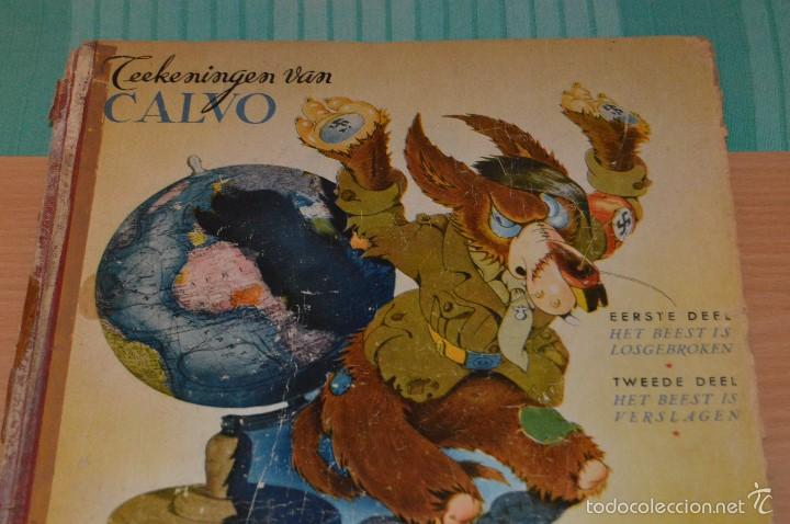 Cómics: HET BEEST IS DOOD - De Wereldoorlog bij de dieren - Muy antiguo - CALVO - 2ª Guerra Mundial - 1946 - Foto 9 - 60670719