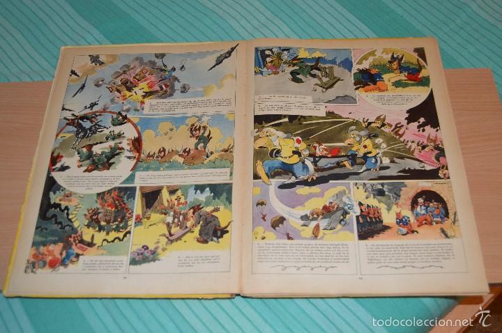 Cómics: HET BEEST IS DOOD - De Wereldoorlog bij de dieren - Muy antiguo - CALVO - 2ª Guerra Mundial - 1946 - Foto 14 - 60670719