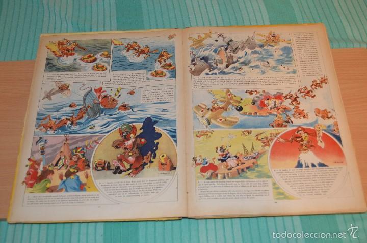 Cómics: HET BEEST IS DOOD - De Wereldoorlog bij de dieren - Muy antiguo - CALVO - 2ª Guerra Mundial - 1946 - Foto 15 - 60670719