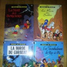 Comics : JOHAN ET PIRLOUIT. ED.LE LOMBARD. TOMOS 14,15, 16 Y 17. Lote 61082811