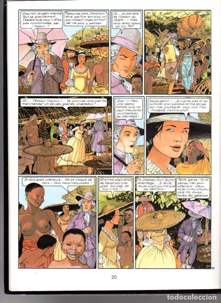 Cómics: LES PASSAGERS DU VENT. 3. F. BOURGEON. LE COMPTOIR DE JUDA. GLENAT. AÑO 1980 - Foto 2 - 61427067