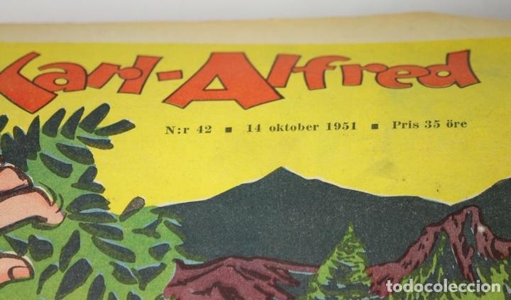 Cómics: 7986 - KARL-ALFRED. APAISADO EN GRAPA. 15 COMICS. (VER DESCRIPCIÓN). VV. AA. 1951-1953. - Foto 3 - 61473959