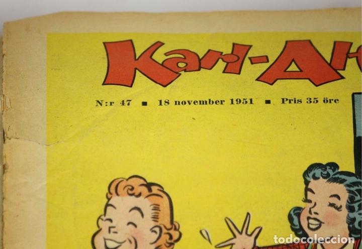 Cómics: 7986 - KARL-ALFRED. APAISADO EN GRAPA. 15 COMICS. (VER DESCRIPCIÓN). VV. AA. 1951-1953. - Foto 4 - 61473959