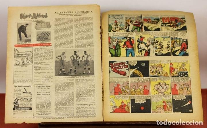 Cómics: 7986 - KARL-ALFRED. APAISADO EN GRAPA. 15 COMICS. (VER DESCRIPCIÓN). VV. AA. 1951-1953. - Foto 6 - 61473959