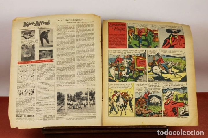 Cómics: 7986 - KARL-ALFRED. APAISADO EN GRAPA. 15 COMICS. (VER DESCRIPCIÓN). VV. AA. 1951-1953. - Foto 7 - 61473959