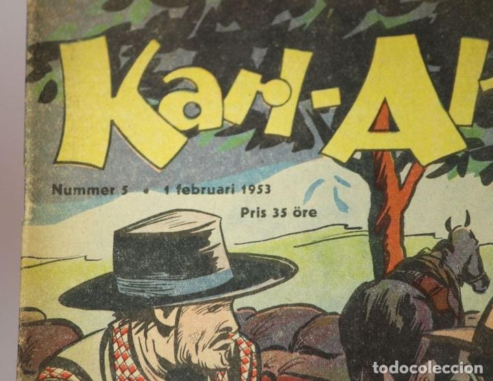 Cómics: 7986 - KARL-ALFRED. APAISADO EN GRAPA. 15 COMICS. (VER DESCRIPCIÓN). VV. AA. 1951-1953. - Foto 9 - 61473959