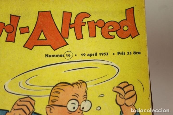 Cómics: 7986 - KARL-ALFRED. APAISADO EN GRAPA. 15 COMICS. (VER DESCRIPCIÓN). VV. AA. 1951-1953. - Foto 10 - 61473959