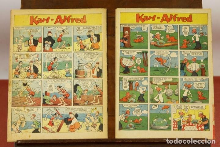 Cómics: 7986 - KARL-ALFRED. APAISADO EN GRAPA. 15 COMICS. (VER DESCRIPCIÓN). VV. AA. 1951-1953. - Foto 11 - 61473959