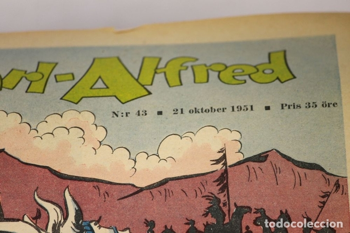 Cómics: 7986 - KARL-ALFRED. APAISADO EN GRAPA. 15 COMICS. (VER DESCRIPCIÓN). VV. AA. 1951-1953. - Foto 13 - 61473959