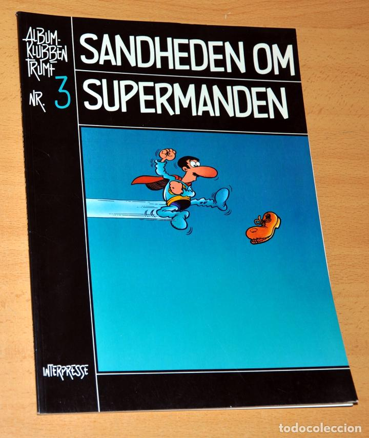 SUPERLÓPEZ EN DANÉS: SANDHEDEN OM SUPERMANDEN - SÚPER LÓPEZ DE JAN - EDITADO EN DINAMARCA - AÑO 1983 (Tebeos y Comics - Comics Lengua Extranjera - Comics Europeos)
