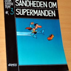 Cómics: SUPERLÓPEZ EN DANÉS: SANDHEDEN OM SUPERMANDEN - SÚPER LÓPEZ DE JAN - EDITADO EN DINAMARCA - AÑO 1983. Lote 61618276