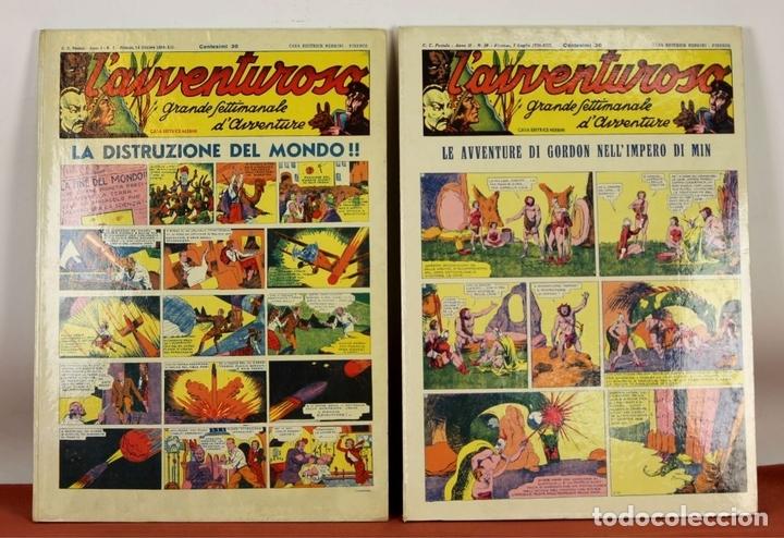 Cómics: 7992 - LAVVENTUROSO. FACSÍMILES. 64 EJEM. EN 3 TOMOS(VER DESCRIP). EDIT. NERBINI. 1973/74. - Foto 2 - 61714768