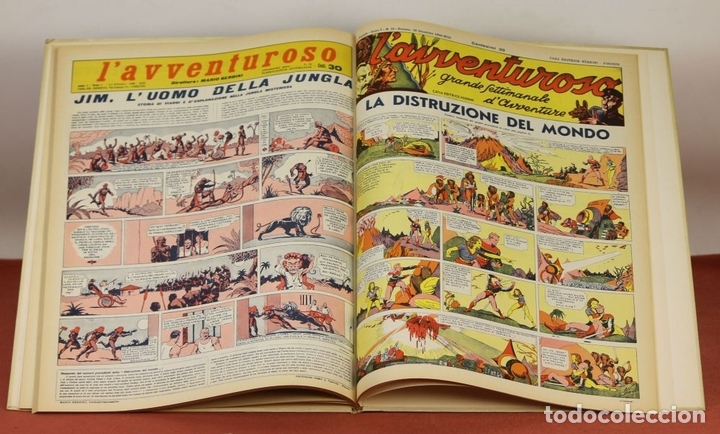Cómics: 7992 - LAVVENTUROSO. FACSÍMILES. 64 EJEM. EN 3 TOMOS(VER DESCRIP). EDIT. NERBINI. 1973/74. - Foto 6 - 61714768