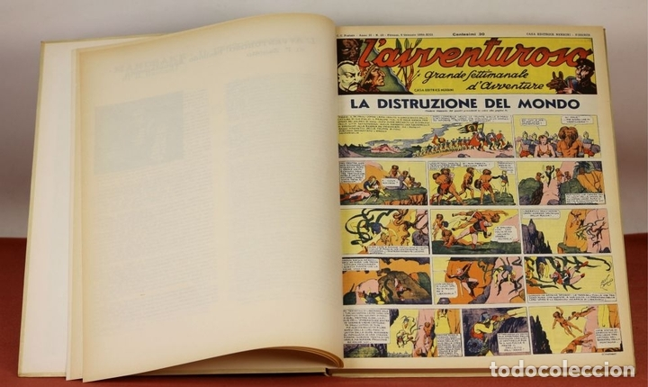 Cómics: 7992 - LAVVENTUROSO. FACSÍMILES. 64 EJEM. EN 3 TOMOS(VER DESCRIP). EDIT. NERBINI. 1973/74. - Foto 8 - 61714768