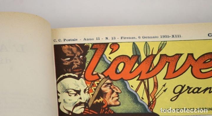 Cómics: 7992 - LAVVENTUROSO. FACSÍMILES. 64 EJEM. EN 3 TOMOS(VER DESCRIP). EDIT. NERBINI. 1973/74. - Foto 9 - 61714768
