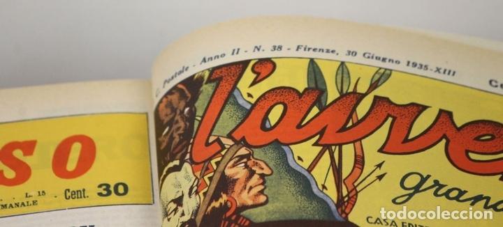 Cómics: 7992 - LAVVENTUROSO. FACSÍMILES. 64 EJEM. EN 3 TOMOS(VER DESCRIP). EDIT. NERBINI. 1973/74. - Foto 10 - 61714768
