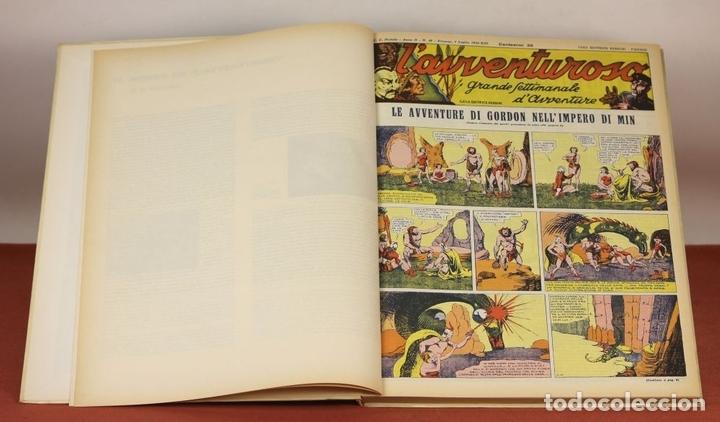 Cómics: 7992 - LAVVENTUROSO. FACSÍMILES. 64 EJEM. EN 3 TOMOS(VER DESCRIP). EDIT. NERBINI. 1973/74. - Foto 13 - 61714768