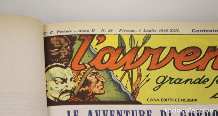 Cómics: 7992 - LAVVENTUROSO. FACSÍMILES. 64 EJEM. EN 3 TOMOS(VER DESCRIP). EDIT. NERBINI. 1973/74. - Foto 14 - 61714768