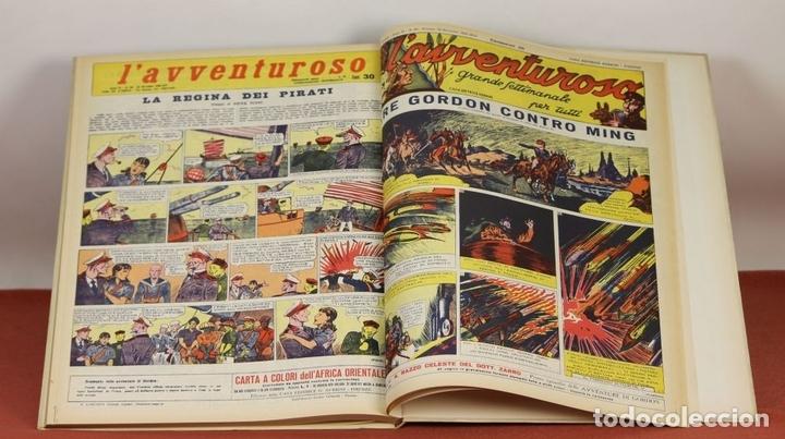 Cómics: 7992 - LAVVENTUROSO. FACSÍMILES. 64 EJEM. EN 3 TOMOS(VER DESCRIP). EDIT. NERBINI. 1973/74. - Foto 15 - 61714768