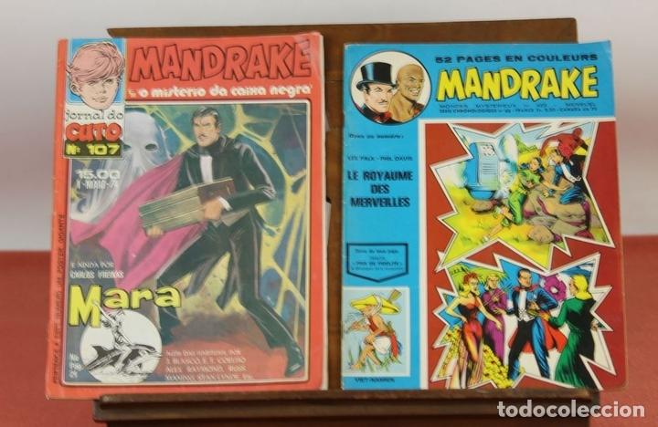 Cómics: 7993 - MANDRAKE. 21 EJEMPLARES. (VER DESCRIPCIÓN). R. VIOLA. EDIT. REMPARTS. 1949-1975. - Foto 3 - 61723812