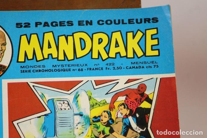 Cómics: 7993 - MANDRAKE. 21 EJEMPLARES. (VER DESCRIPCIÓN). R. VIOLA. EDIT. REMPARTS. 1949-1975. - Foto 5 - 61723812